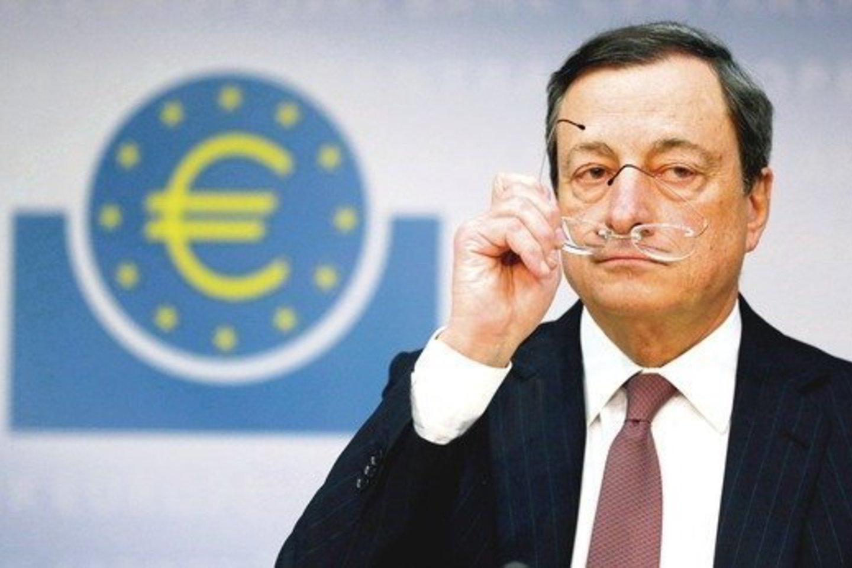 """M. Draghi nemėgsta daugžodžiauti – ECB vadovo pareiškimai dažniausiai būna lakoniški, bet itin turiningi.<br>""""Reuters"""""""