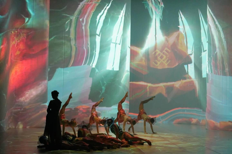 """Baletas """"Vaivos juosta"""" perteikė legendos dvasią.<br>Rengėjų nuotr."""