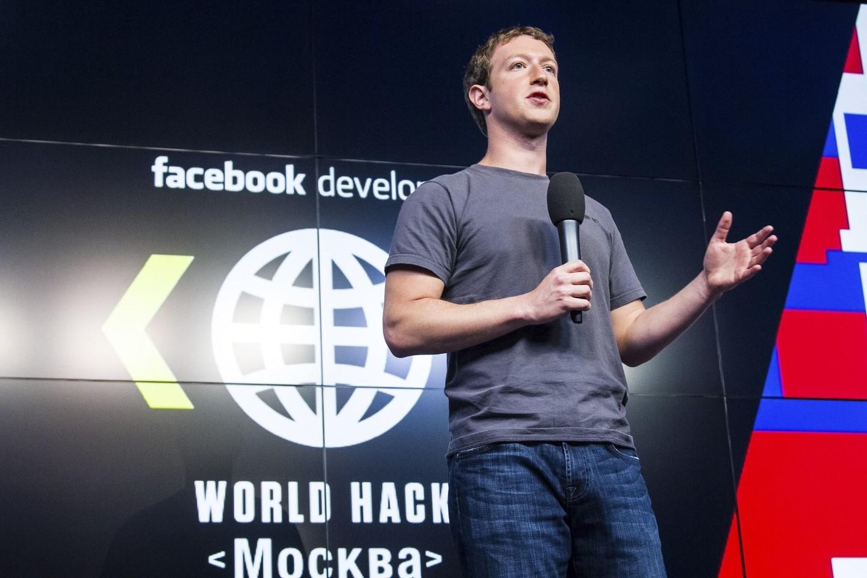 """""""Facebook"""" vadovas M.Zuckerbergas nevengia tūpsnių Rusijai, o jo socialiniu tinklu aktyviai naudojasi Kremliaus troliai.<br>RIA Novosti nuotr."""