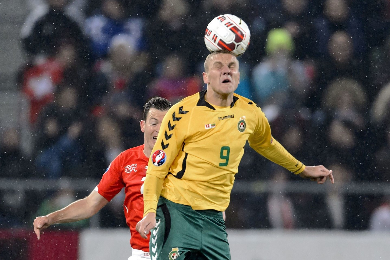 D.Matulevičius pasirašė pelningą sutartį su Kazachstano klubu.<br>Reuters/Scanpix nuotr.