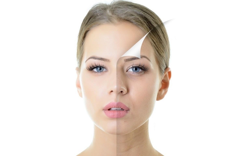 senėjimo procesas neišvengiamas: bėgant laikui oda praranda elastingumą, atrofuojasi prakaito ir riebalinės liaukos, todėl keičiasi veido bruožai.