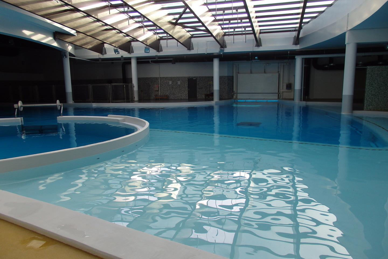 Įrengti trys skirtingo gylio baseinai delfinų terapijai.<br>A.Pilaitienės nuotr.