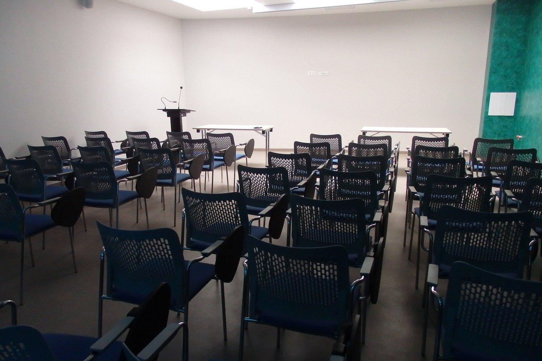 Naujoji konferencijų salė.<br>A.Pilaitienės nuotr.