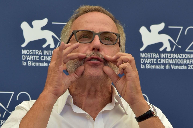 """Du apdovanojimai atiteko prancūzo Christiano Vincento filmui """"Šermuonėlis"""" (""""L'hermine""""). Režisierius apdovanotas už geriausią scenarijų, o Fabrice'as Luchini (nuotr.) pripažintas geriausiu aktoriumi.<br>AFP/Scanpix nuotr."""