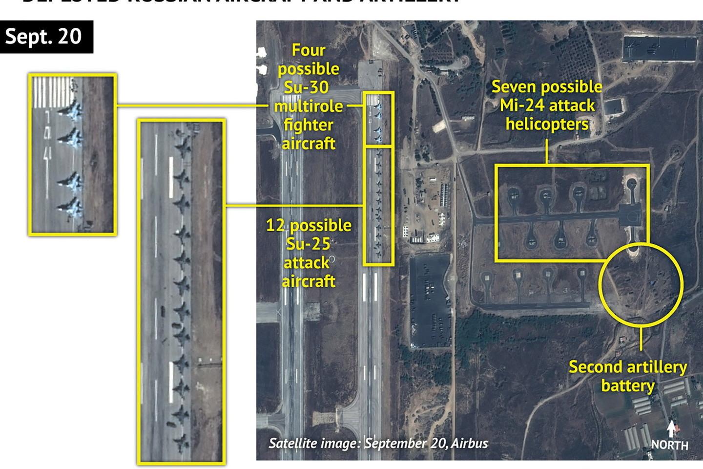 Rusija telkia karines pajėgas Sirijoje.<br>AFP/Scanpix nuotr.