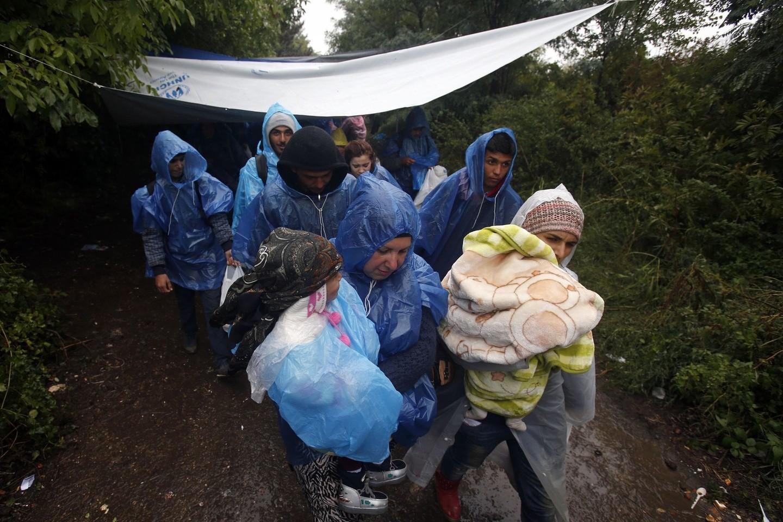 Pabėgėlių krizė – galvosopis Europai.<br>AP nuotr.