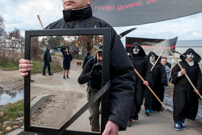 Vilniaus čigonų tabore.<br>V.Ščiavinsko nuotr.