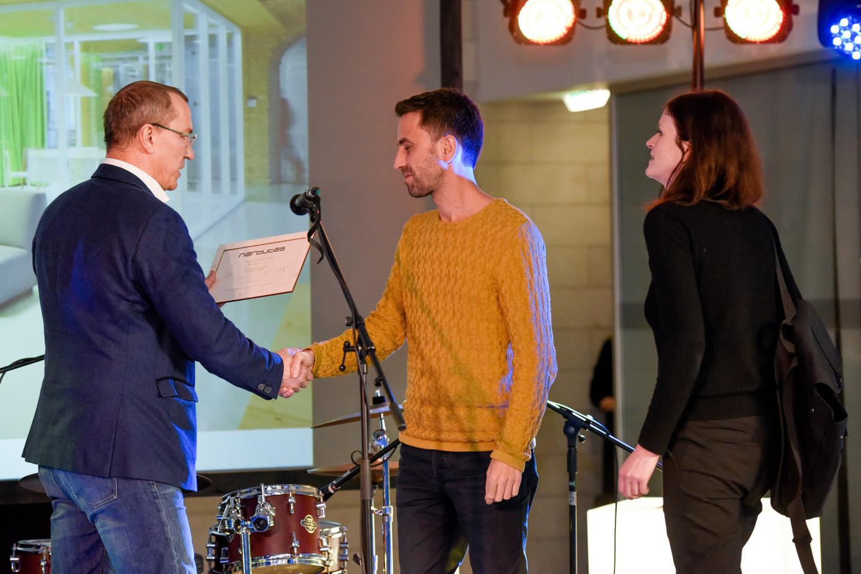 """""""Narbutas"""" geriausio biuro interjero apdovanojimą skyrė """"INBLUM architects"""".<br>D.Umbraso nuotr."""