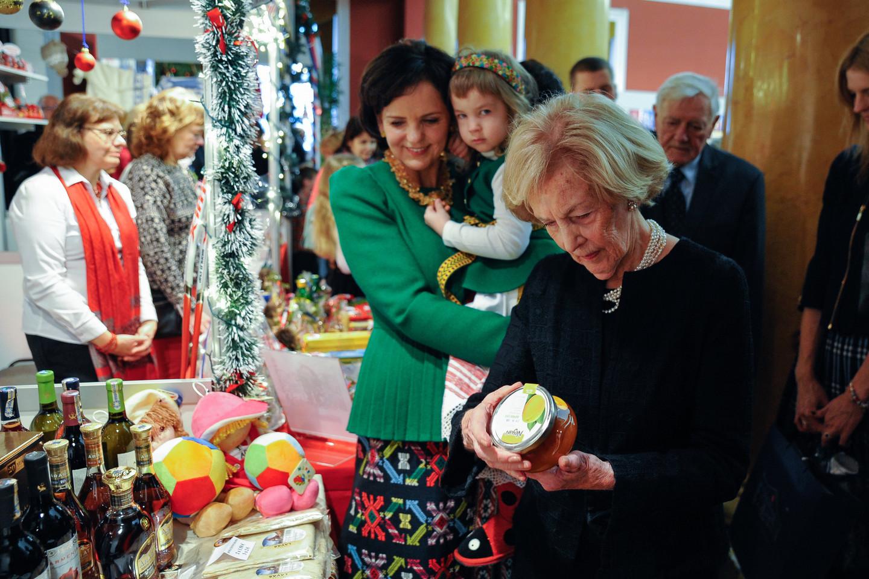Renginyje dalyvavo ir ponia Alma Adamkienė.
