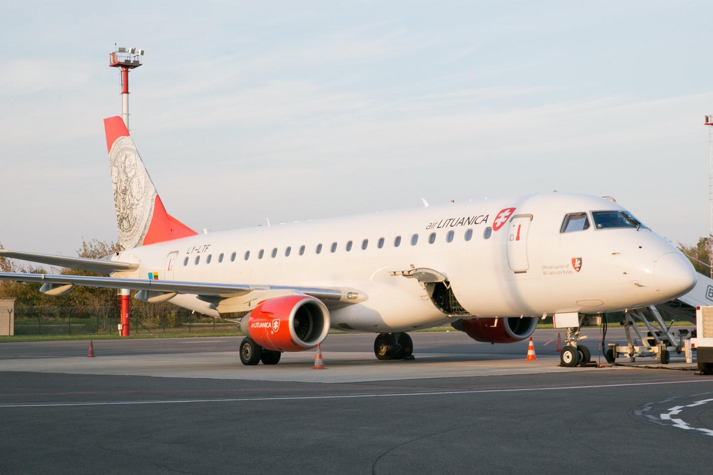 "Sustabdyta oro bendrovės ""Air Lituanica"" veikla.<br>T.Bauro nuotr."