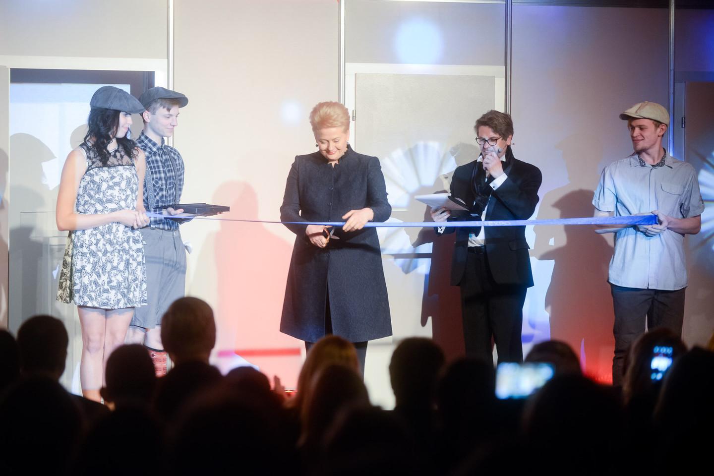 Mugę atidarė prezidentė Dalia Grybauskaitė.<br>J.Stacevičiaus nuotr.