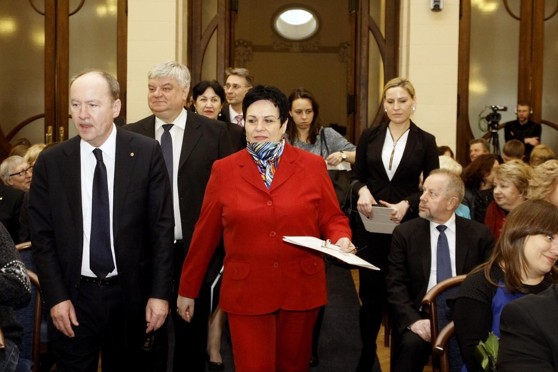 Įteiktos Lietuvos mokslo premijos.<br>G.Savickio (ELTA) nuotr.