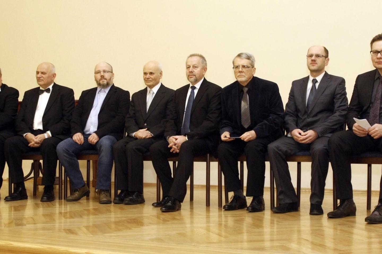 Lietuvos mokslo premijų laureatai.<br>G.Savickio (ELTA) nuotr.