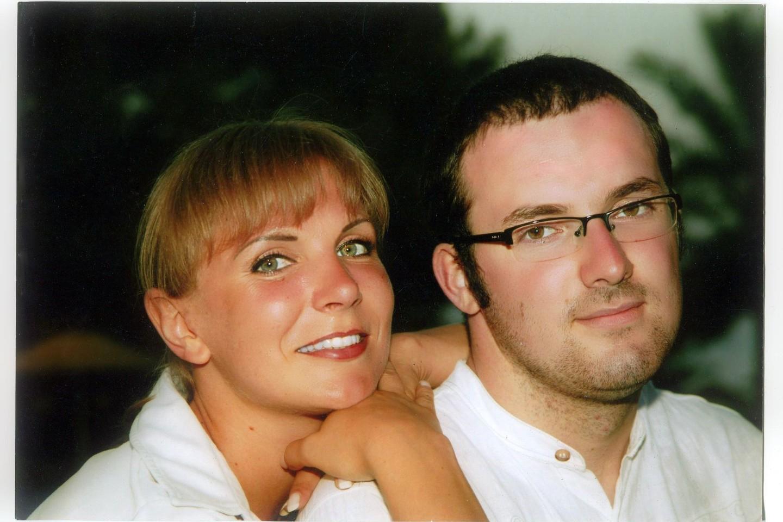 Už savo dabartinio vyro moteris ištekėjo 2010 metais, jis buvo jaunesnis penkiolika metų.