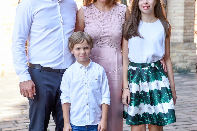 Vilniuje vyko Indrės ir Evaldo Vaitasių dukters Emilės krikštynos.<br>D.Umbraso nuotr.