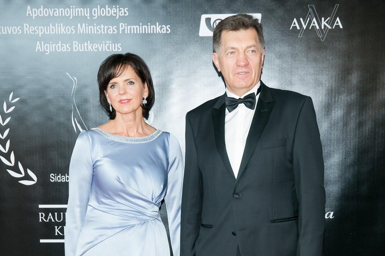 Janina ir Algirdas Butkevičiai.<br>T.Bauro nuotr.