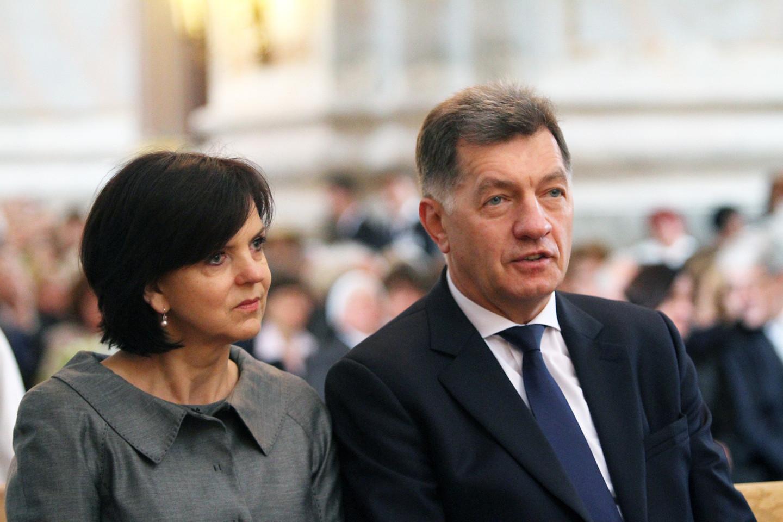 Janina ir Algirdas Butkevičiai.<br>M.Patašiaus nuotr.