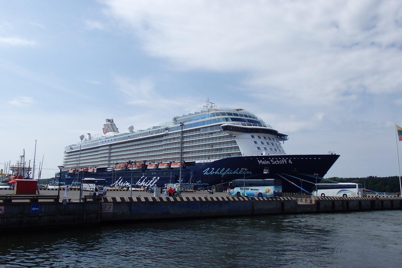 Kruzinių laivų sezonas šiemet – sėkmingas.<br>A.Pilaitienės nuotr.