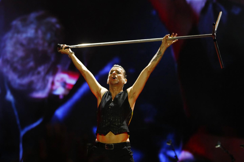 """""""Depeche Mode"""" kitais metais surengs pasaulines gastroles.<br>Scanpix/Reuters nuotr."""