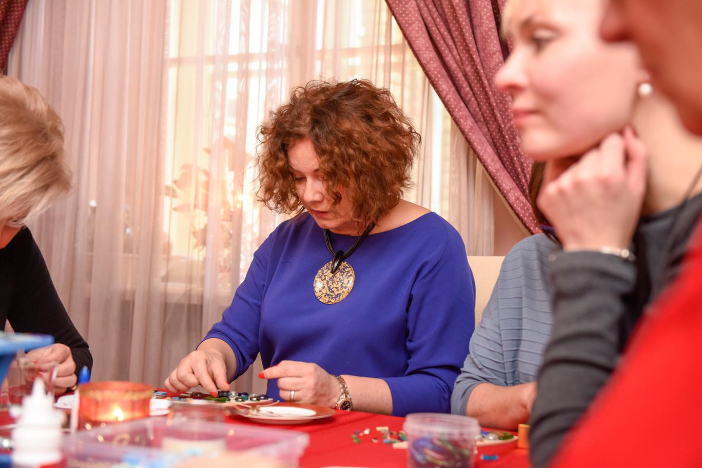 Jaukus renginys vyko B.Vizgirdienės namuose.<br>D.Umbraso nuotr.