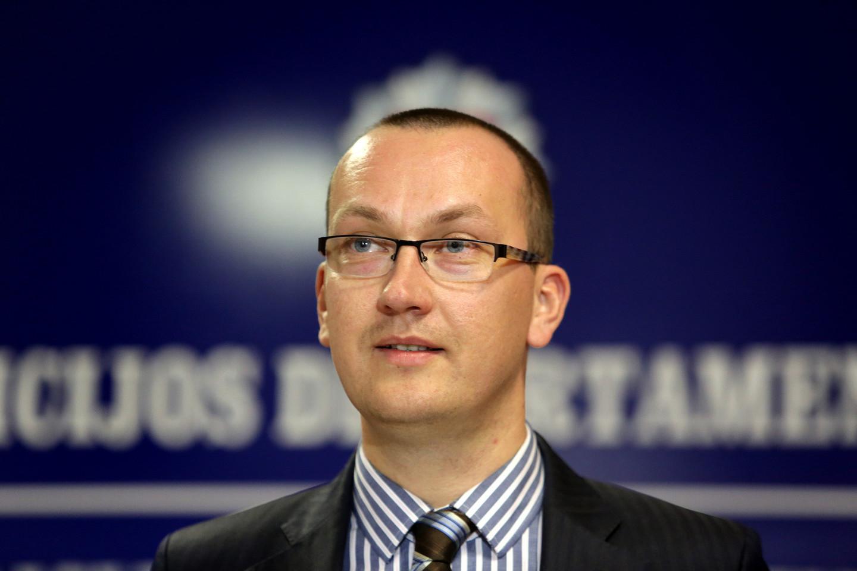 E. Šileris įvertino Ruklos pabėgėlių centre kilusį incidentą<br>V. Balkūno nuotr.