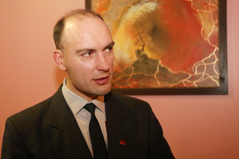 Lietuvių Tautos Sąjungai vadovaujantis M.Gervaldas šeštadienį Šiauliuose surengė Lietuvių tautinių organizacijų susirinkimą<br>R.Vitkaus nuotr.