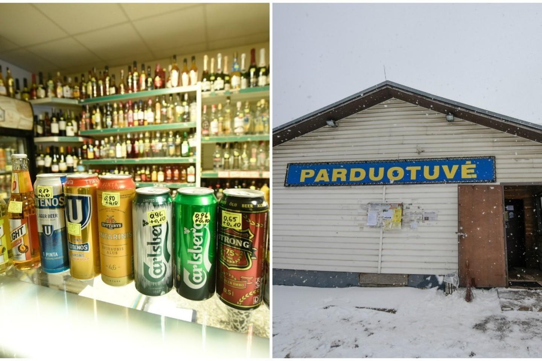 Aplankėme kaimo parduotuves – ar iš tiesų čia karaliauja alkoholis?<br>D.Umbraso nuotr.