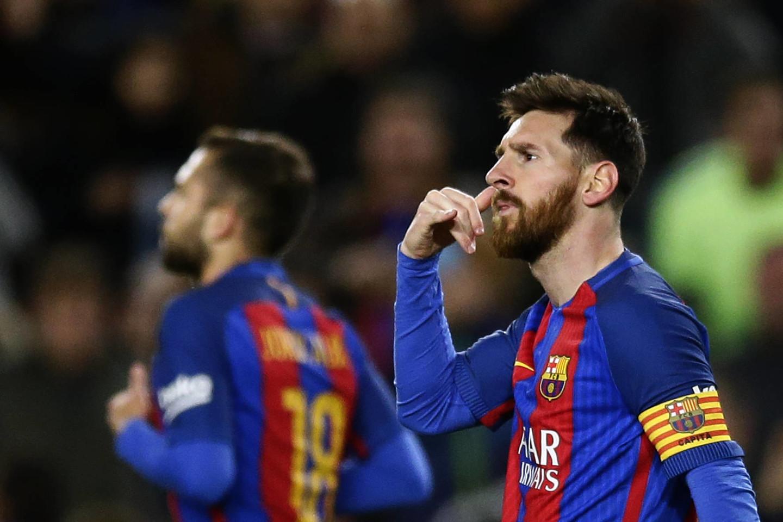L.Messi šiuo metu demonstruoja puikią formą.<br>AP nuotr.