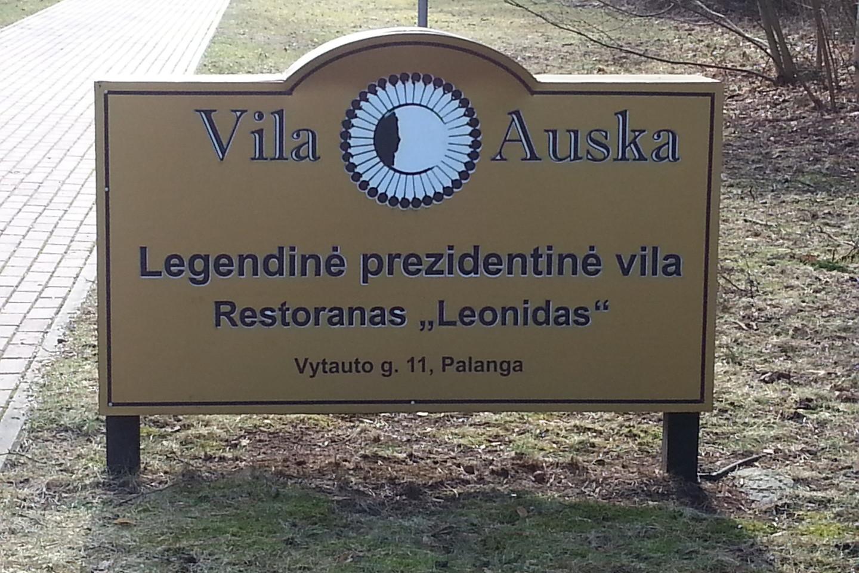 Prezidentė vila – legendinė, tačiau vaizdas nekoks.<br>L.Lavaste nuotr.