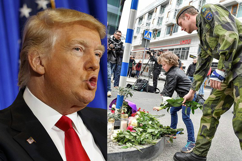 JAV prezidentas D.Trumpas, regis, išpranašavo ateitį, apie kurią nė pats nenujautė.<br>AFP/Scanpix nuotr.