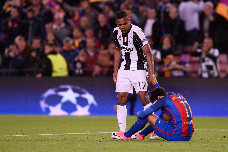 Neymaras po pralaimėjimo pravirko.<br>AFP/Scanpix nuotr.