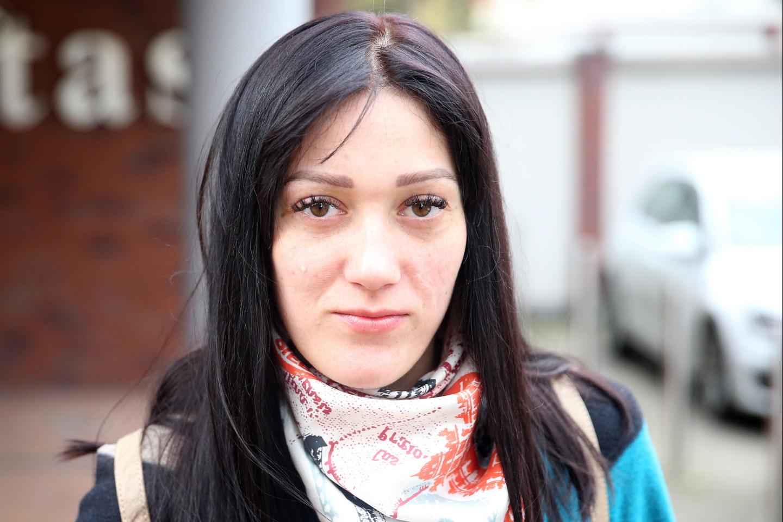 Olga džiaugiasi išsivadavusi iš depresijos ir epilepsijos gniaužtų.<br>R.Danisevičiaus nuotr.