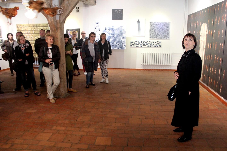 Baroti galerijos paroda.<br>G.Pilaičio nuotr.