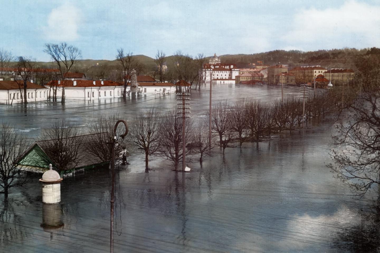 Didysis Vilniaus potvynis, 1931 m.<br>www.simtmeciospalvos.lt nuotr.
