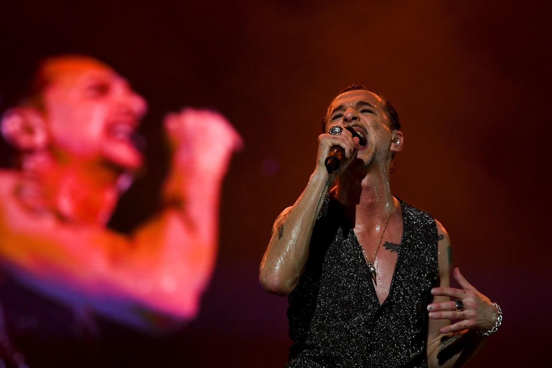 """""""Depeche Mode"""" į Lietuvą grįš po penkerių metų pertraukos.<br>Scanpix/AFP nuotr."""
