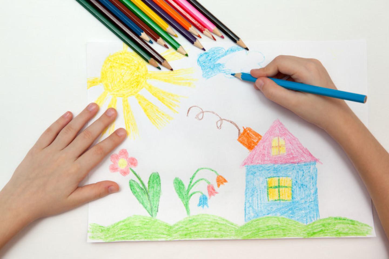 Tai, kokią spalvą renkasi vaikas, daug apie jį pasako.<br>123rf nuotr.