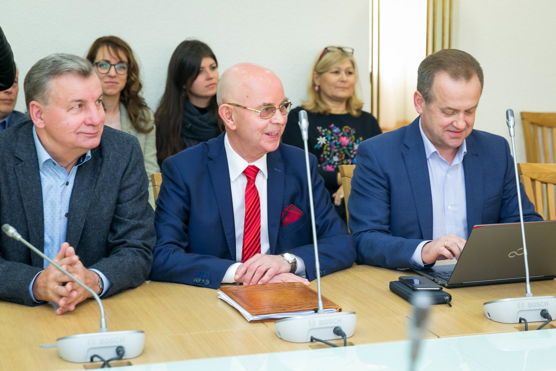 Socialdemokratų frakcija Seime susitiko su partijos pirmininku G.Palucku.