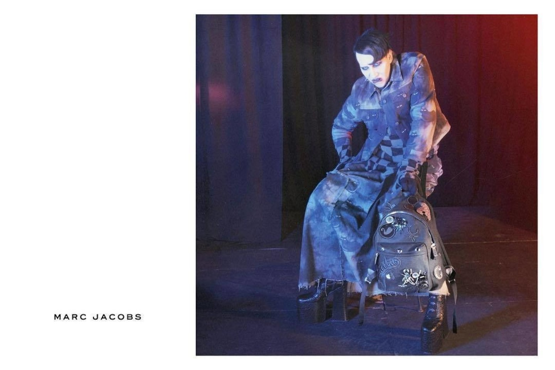 "Marilyn Mansonas.<br>""Marc Jacobs"" nuotr."