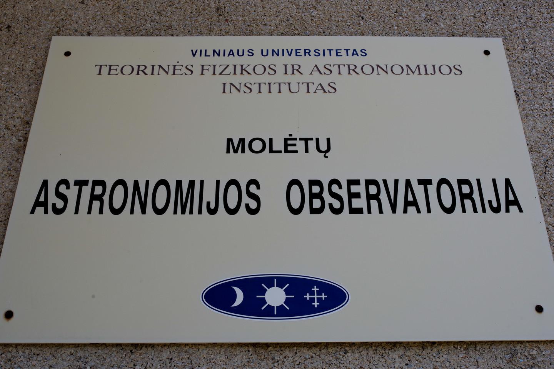 1969 metais nuspręsta observatoriją įkurti Molėtų rajone, apie 70 km nuo Vilniaus nutolusiuose Kulionyse.<br>V. Ščiavinsko nuotr.
