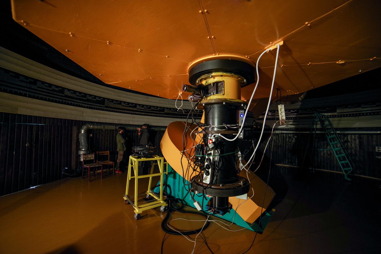 Didžiausias teleskopas sveria net 24 tonas.<br>V. Ščiavinsko nuotr.