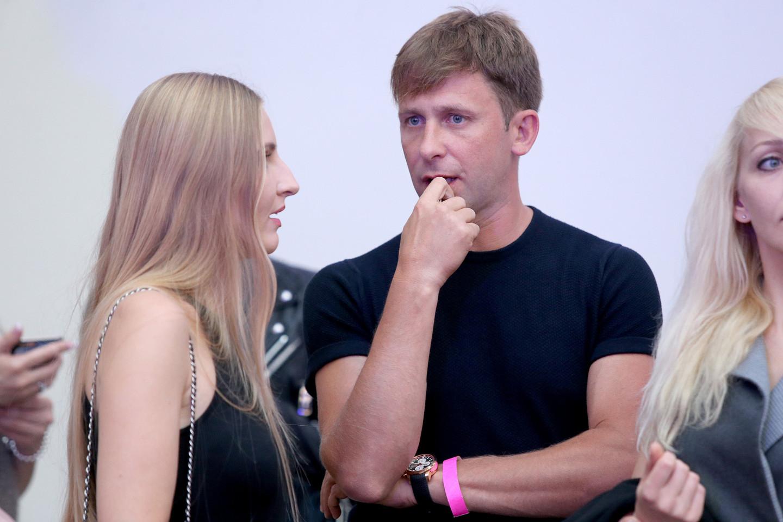 Daug metų partneriais scenoje ir gyvenime buvę E.Dragūnas su E.Sebrova dabar tapo kone mirtinais priešais.<br>R.Danisevičiaus nuotr.