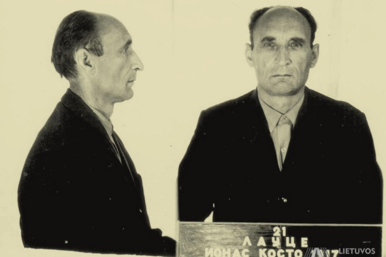 J.Laucė Valstybės saugumo komiteto (KGB) prie LSSR ministrų tarybos tardymo izoliatoriuje. 1971 m. liepos 20 d.<br>Lietuvos ypatingojo archyvo nuotr.