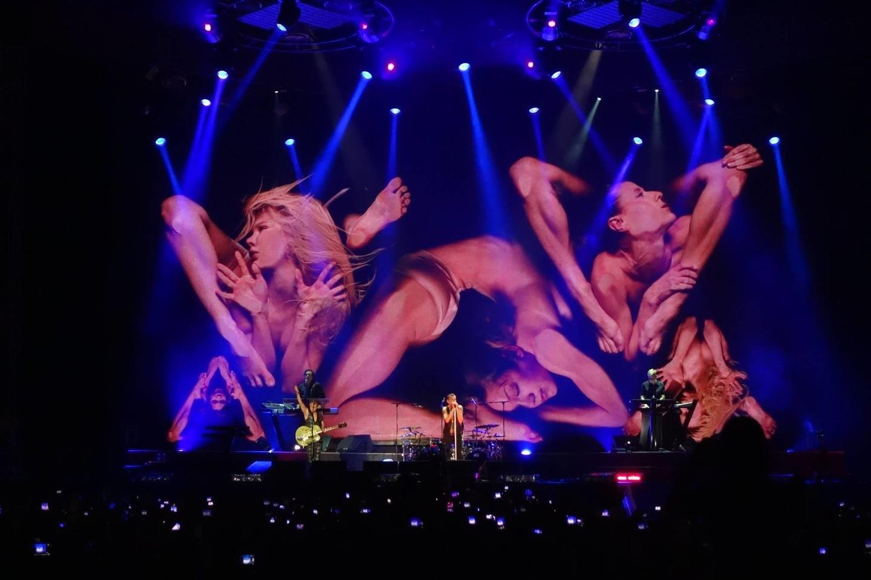 """""""Depeche Mode"""" koncertas.<br>Organizatorių nuotr."""
