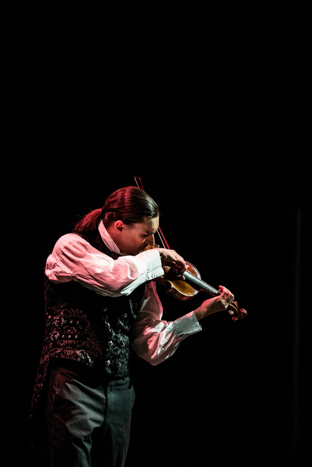 Smuiko virtuozas Sergejus Malovas.<br>Organizatorių nuotr.