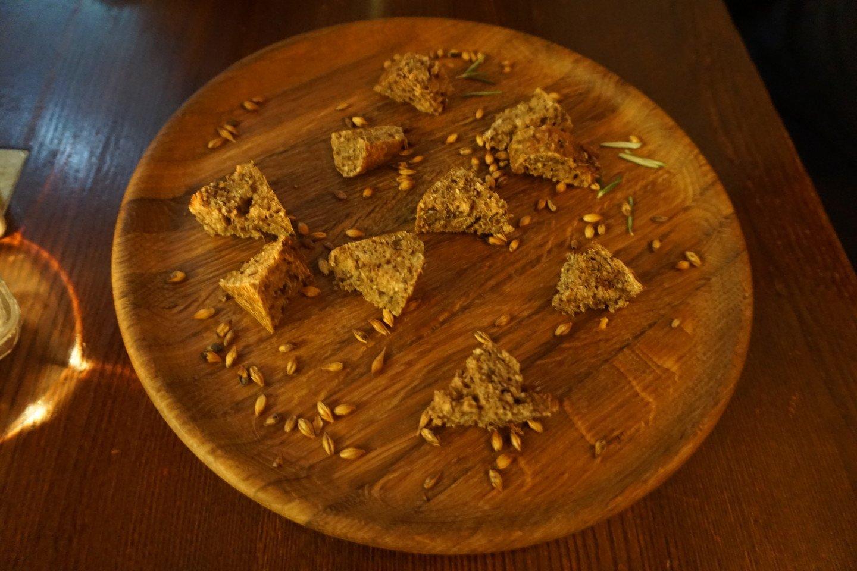 Degustacijoje neapsieita ir be gardžiosios Biržų duonos.<br>G.Balčiūtės nuotr.