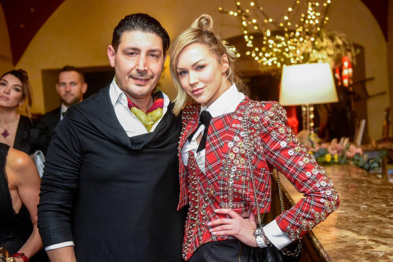 Vaida Jasaitienė su nauju mylimuoju Aleksandru Beridze.<br>D.Umbraso nuotr.