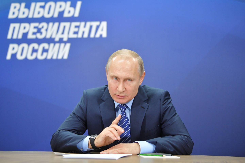 Nėra abejojančių, kad dabartinis Rusijos prezidentas Vladimiras Putinas šiemet bus perrinktas į šį postą.<br>Reuters/Scanpix nuotr.