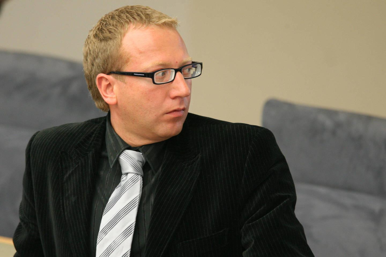 Lietuvos respublikos IX Seimo (2004 - 2008) narys Mindaugas Subačius<br>AP nuotr.