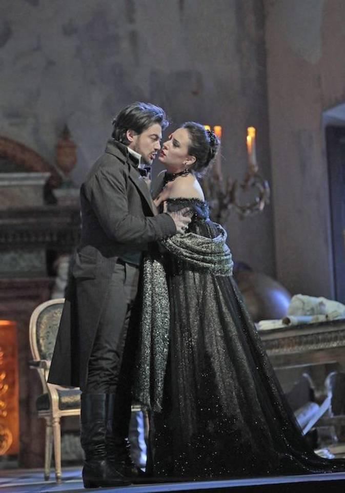 "S.Yoncheva - Toska, V.Grigolo - Kavaradosis.<br>""Metropolitan Opera""nuotr."