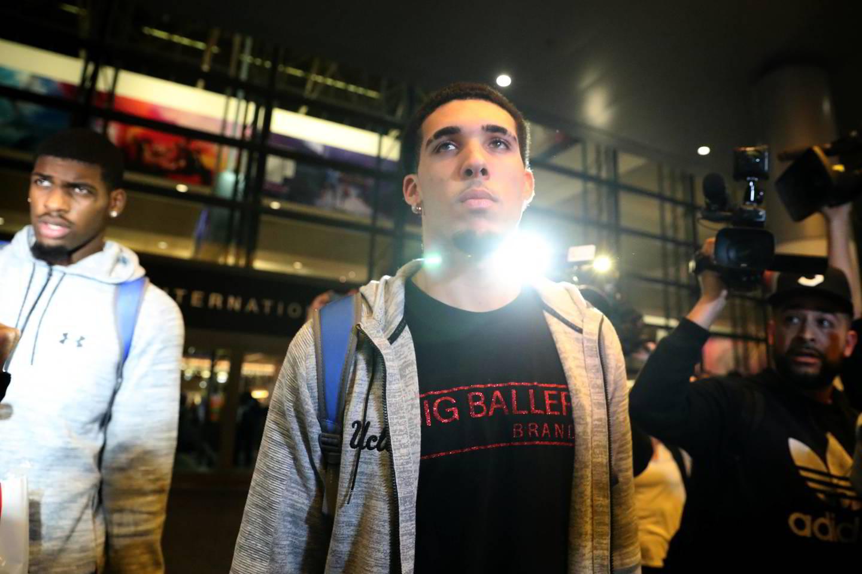 LiAngelo Ballas.<br>AFP/Scanpix nuotr.